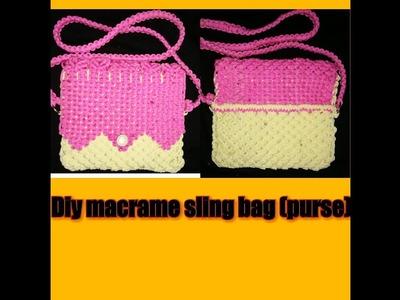 How to make macrame purse ( part 2)