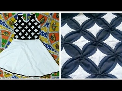 How to make {ORIGAMI} Cathedral Frock for Ladies