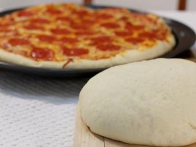 How to Make Pizza Dough - Easy Amazing Homemade Pizza Dough Recipe