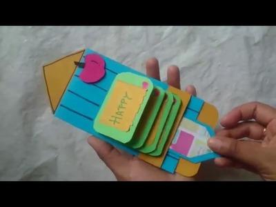 Jeet'a teacher's day card