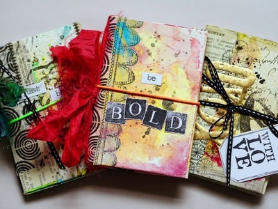 """""""Mini Mixed Media Booklet"""" for Artified."""