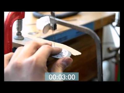 Monogram necklace-How to make monoartisan monogram jewelry