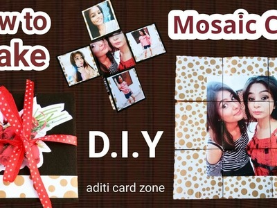 Mosaic Card Tutorial | Handmade greeting cards |