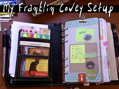 My Planner Setup 2015 - from Filofax to Franklin Covey !!!