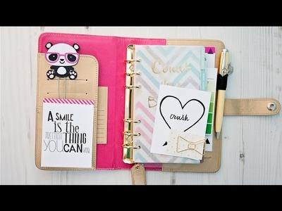 My Set up of the Gold Websters Pages Color Crush Planner