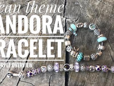 Pandora Bracelet: What's on my Ocean Theme Pandora Bracelet