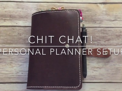 PERSONAL PLANNER SETUP | Hangout and a flip through!