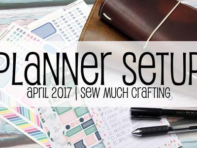 Planner Setup | April 2017