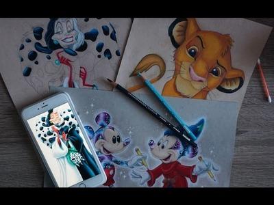 Prismacolor pencil coloring part 3