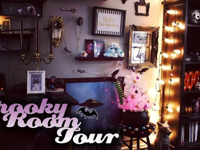 Spooky Room Tour ❤ 31 Days of Halloween ❤