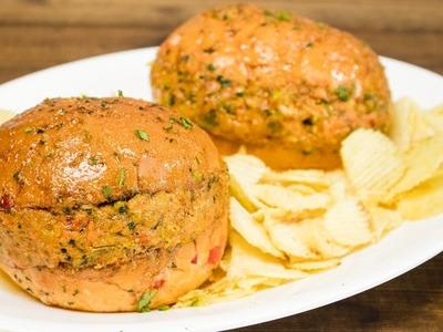 Tawa Burger Recipe | Indian Street Food. Indian Style Burger Recipes