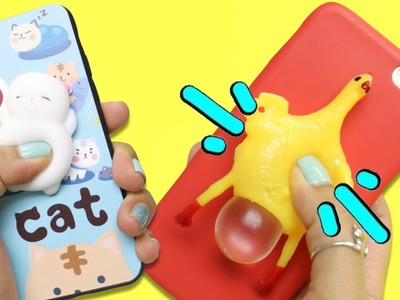 TOP 4 weird squishy phone cases YOU HAVE TO TRY