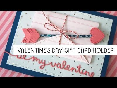 Valentine's Day Gift Card Holder tutorial