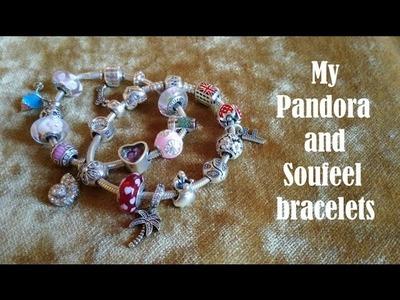 What's on my Pandora and Soufeel bracelets    I miei bracciali Pandora e Soufeel