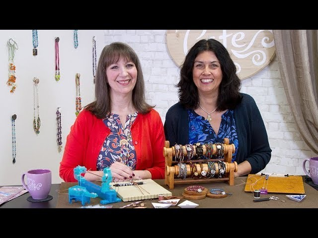 Artbeads Cafe - Wrap It and Wear It with Cynthia Kimura and Cheri Carlson