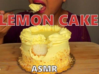 """ASMR: Lemon Cake *Eating Sounds"""" MUKBANG"""