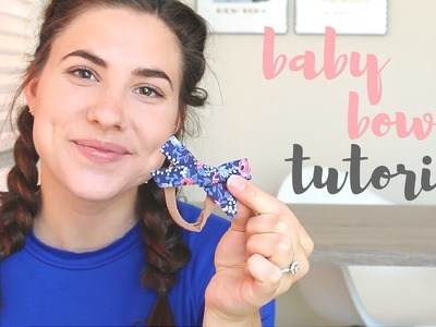 Baby Bow Headband Tutorial | Lindsay Brooke