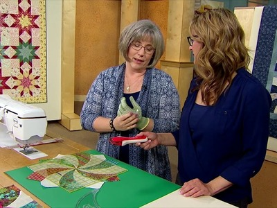Behind the Scenes on LOQtv (3000 Series): Cutting Tips for Twisted Pinwheel Quilt Blocks
