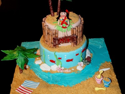 Cake decorating - how to make fondant look like bamboo