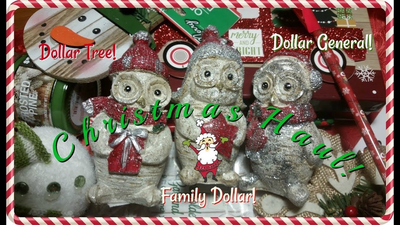 Family Dollar Christmas Trees.Christmas Haul Dollar Tree Dollar General Family Dollar