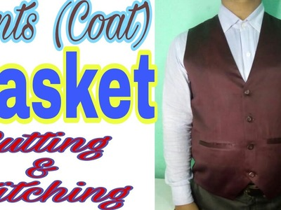 Coat Basket cutting and stitching in Hindi