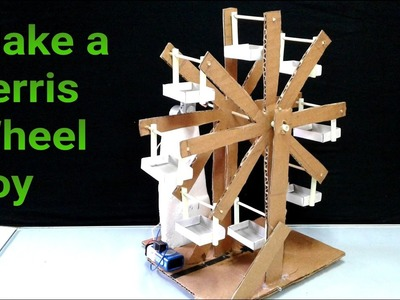 Easy invention-How to Make Ferris Wheel