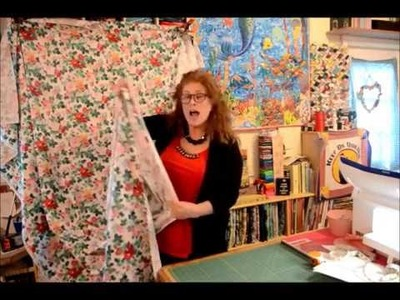 EPISODE 26 - Part 1 (of 2) Backing your quilt - Making and Measuring Yardage