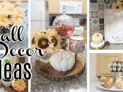 FALL DECOR IDEAS FOR YOUR KITCHEN