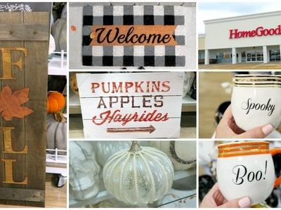 Fall Decor Shopping At Homegoods & Tj Maxx