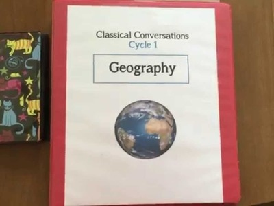 Geography Notebook for Classical Conversations, Cycle 1