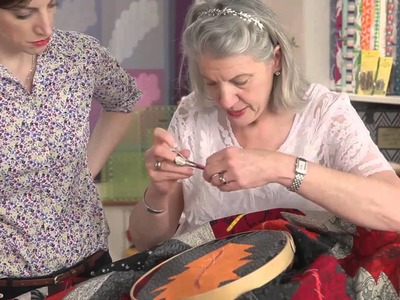 Hand Quilting with Marianne Fons Part 2
