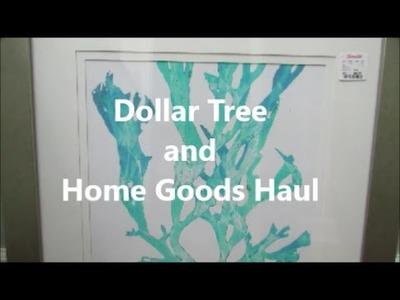 Home Goods and Dollar Tree Haul | Powder Room Decor