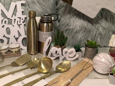 Home Goods, TJ Maxx & Marshall's Home Decor Haul Jun 2017 Part 1