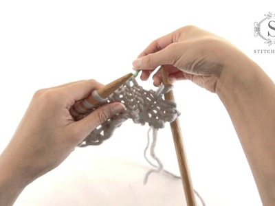 How to knit Cable Stitch - a Stitch & Story tutorial