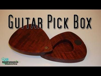 How To Make A Guitar Pick Box