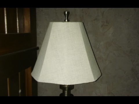 How to make a lampshade