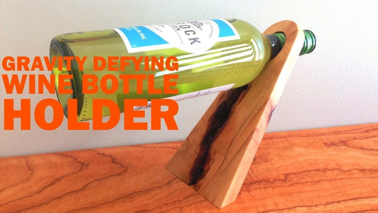 How to Make a Magic Wine Bottle Holder | Covewood Creations