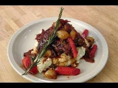 How to make a Pot Roast - recipe by Laura Vitale - Laura in the Kitchen Ep 95