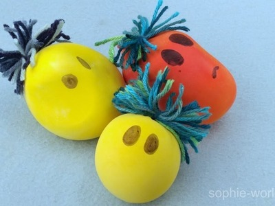 How to Make a Squishy Head Stress Ball | Sophie's World