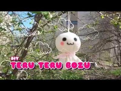 How to make a Teru Teru Bozu I Kawaii Japanese Rain Doll Charm (no sew)