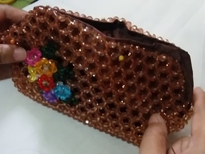 How to Put Lining and Zipper on Big Pouch Part 2
