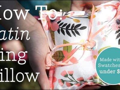 How to: The Perfect Satin Ring Pillow | Spoonflower Tutorials