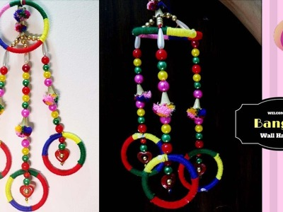 How to use waste bangles - How to use old bangles for decoration - Home decoration using bangles