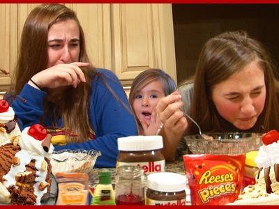 Ice Cream Sundae Challenge By Girls - Kids Family Reality Fun