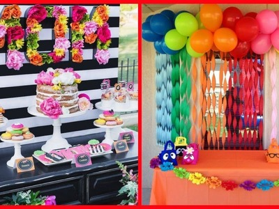 Latest Birthday Decoration Ideas. Amazing