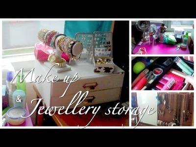 Make Up and Jewelry Storage and Organization - lx3bellexoxo ♡