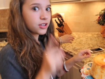 Making a Cake with Kenzie
