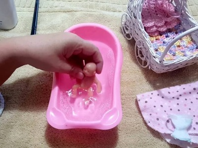 Mini Baby Silicone Bath!