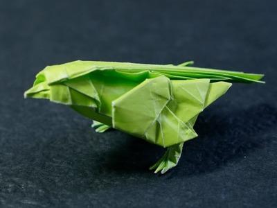 Origami Little Bird timelapse (Satoshi Kamiya)
