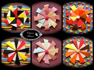 Origami Maniacs 279: Interlaced Star